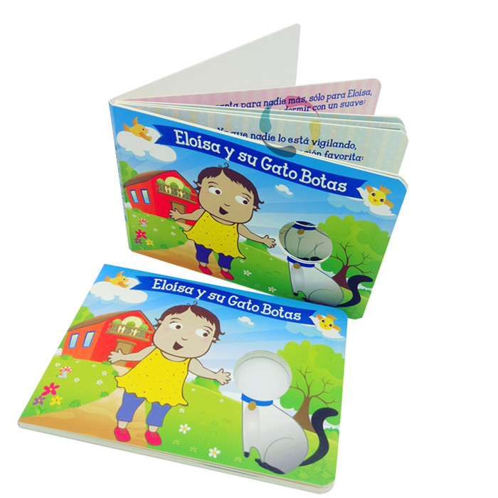 high quality board book printing in China