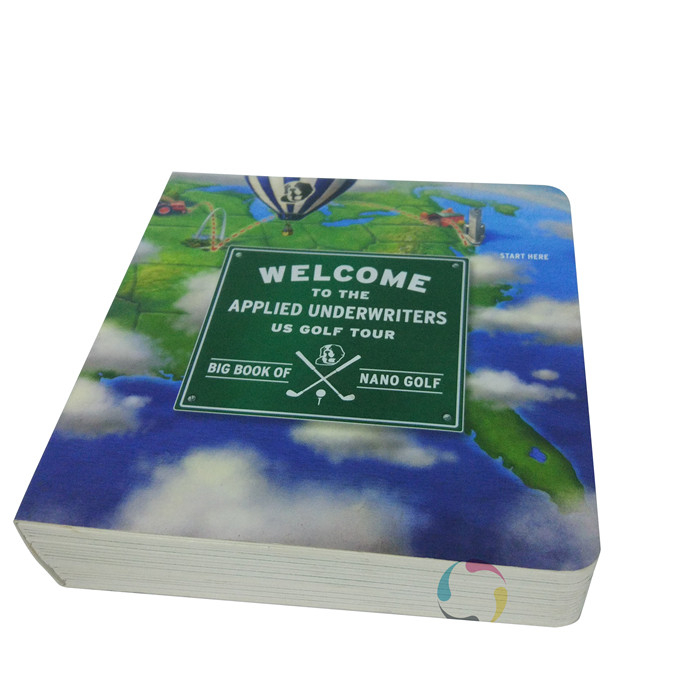 cheap wholesale custom Promotional Cheap Children Board Book Printing Service