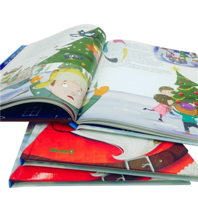 Annual year self published children book printing