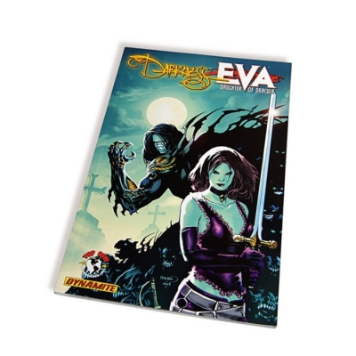 professional designed full color paperback high picture quality comic book printing