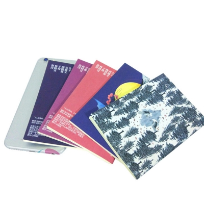 staple binding & sewn binding cheap softcover notebook printing