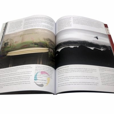 a3 a4 a5 a6 CMYK art paper full color magazine printing